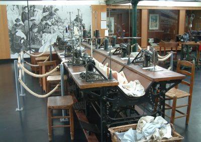Banc de machines Musee Argenton