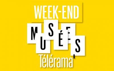 Samedi 24 et dimanche 25 mars, Week-end musées Télérama