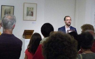 Vendredi 14 septembre à 18h00, conférence sur «La boîte romantique : artefact de l'élégance masculine au 19ème siècle» par Vincent Boirel