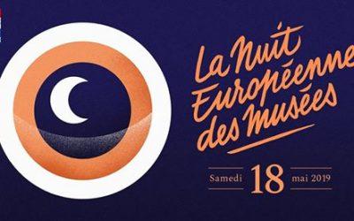 samedi 18 mai, Nuit des Musées de 18h00 à 23h00
