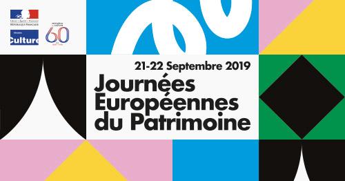 Samedi 21 et dimanche 22 septembre, Journées Européennes du Patrimoine