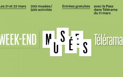 Samedi 21 et dimanche 22 mars, Week-end Musées Télérama