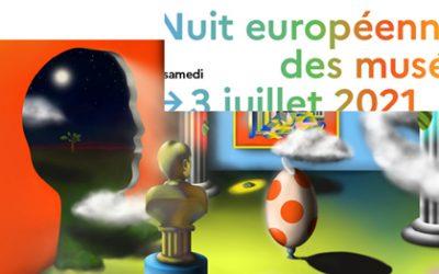 Samedi 3 juillet, Nuit Européenne des Musées