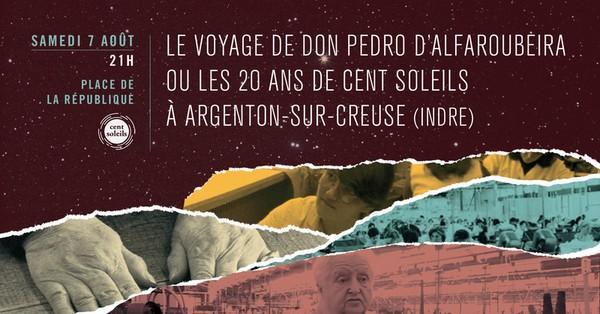 Samedi 7 août à 21h00, projection cinématographique, place de la République à Argenton/Creuse
